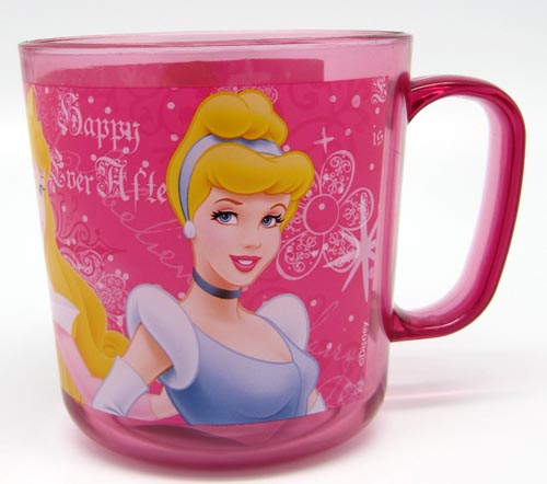 trinkbecher tasse milchbecher mit henkel kunststoff disney 350ml princess ebay. Black Bedroom Furniture Sets. Home Design Ideas